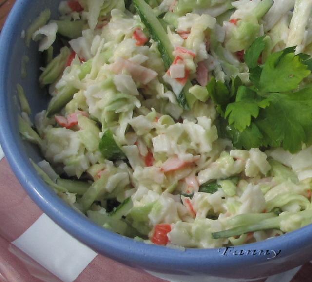 Салат из авокадо простойы