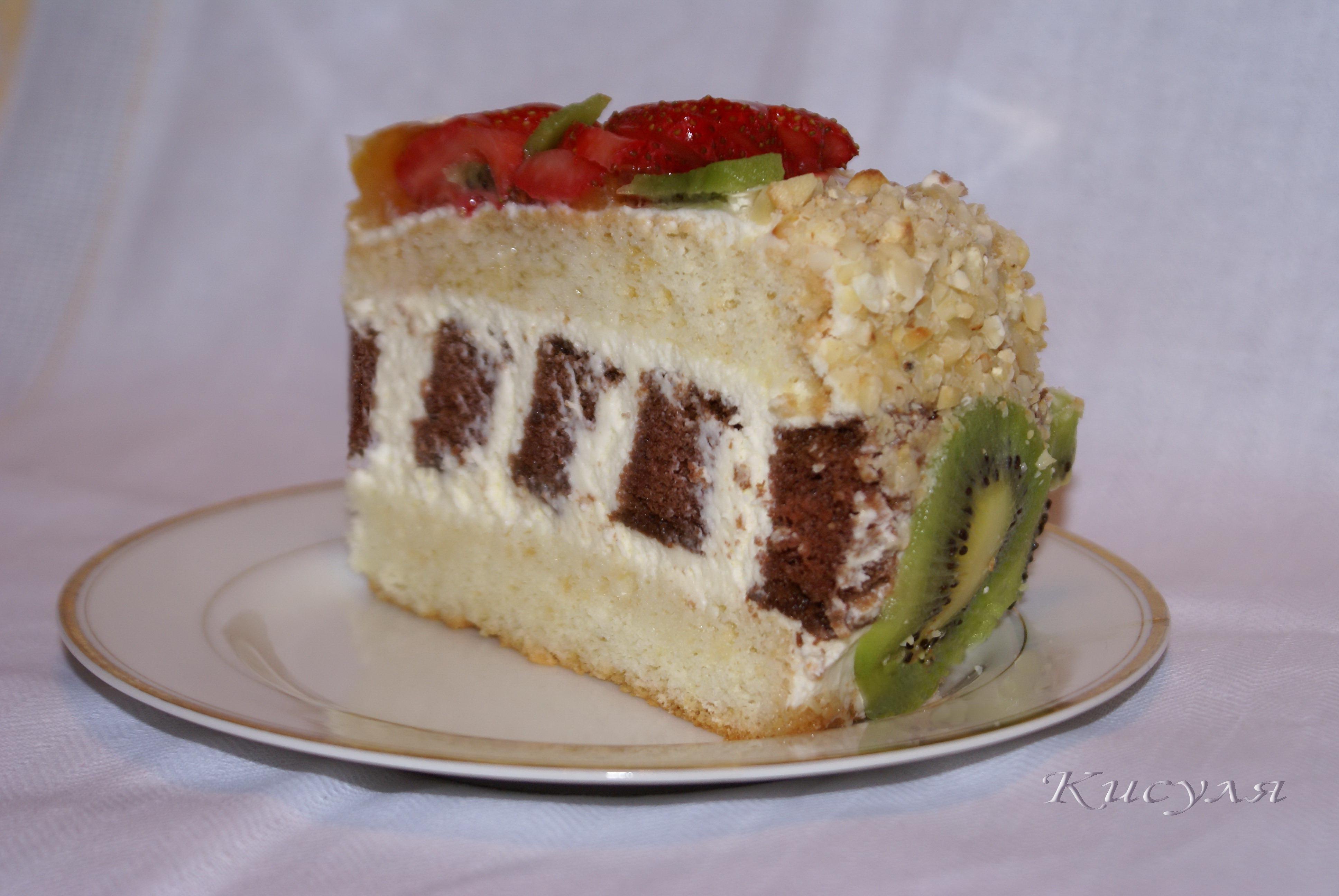 Торт из сливок рецепт