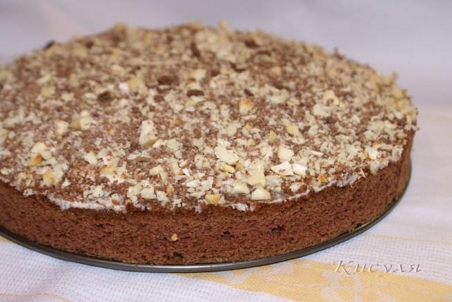 Приготовление торта с последовательными фото