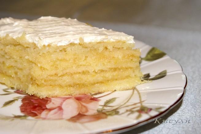 Лимонник торт рецепт
