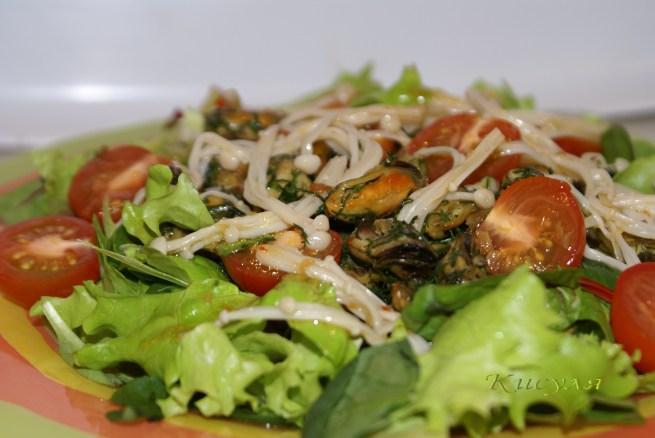 Салат из мидий в масле рецепт с очень вкусный