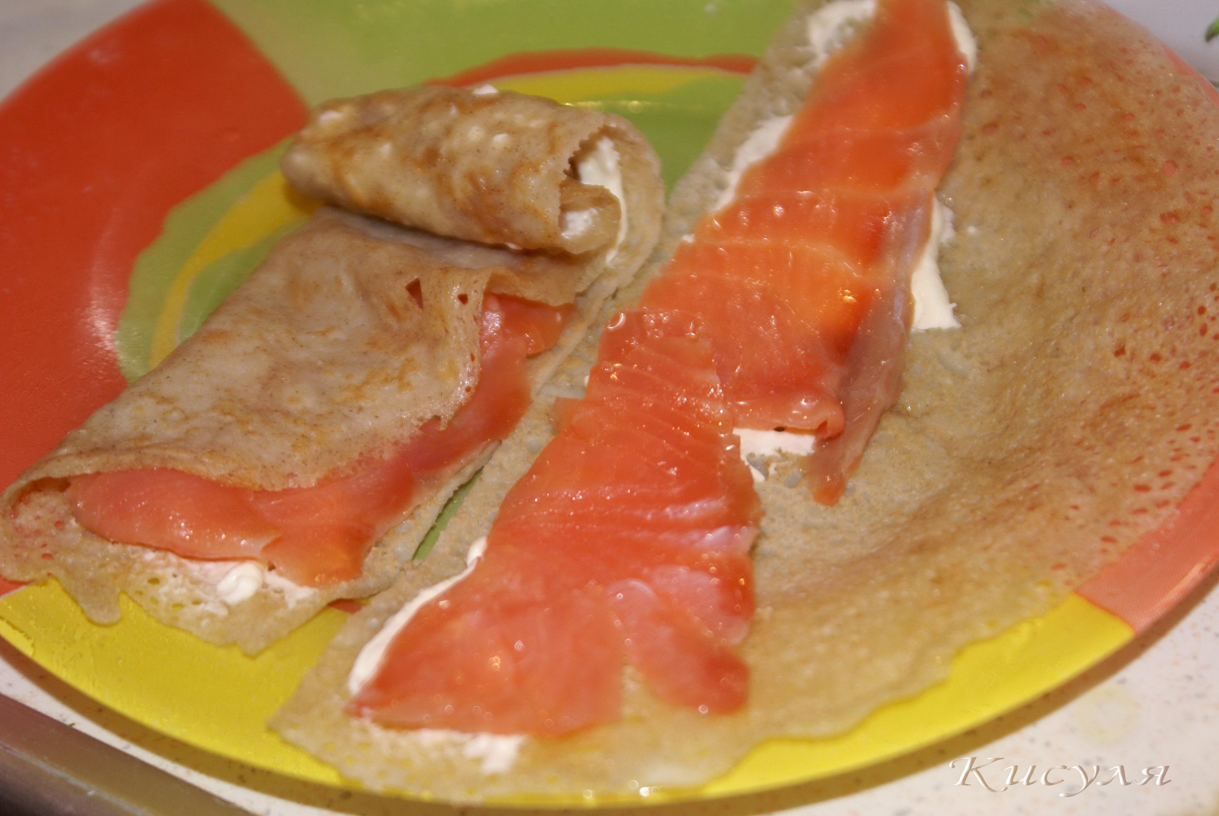 Как сделать оладьи с рыбой