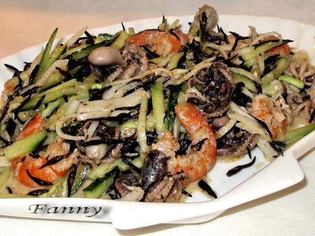 Рецепты японских салатов из морепродуктов с фото