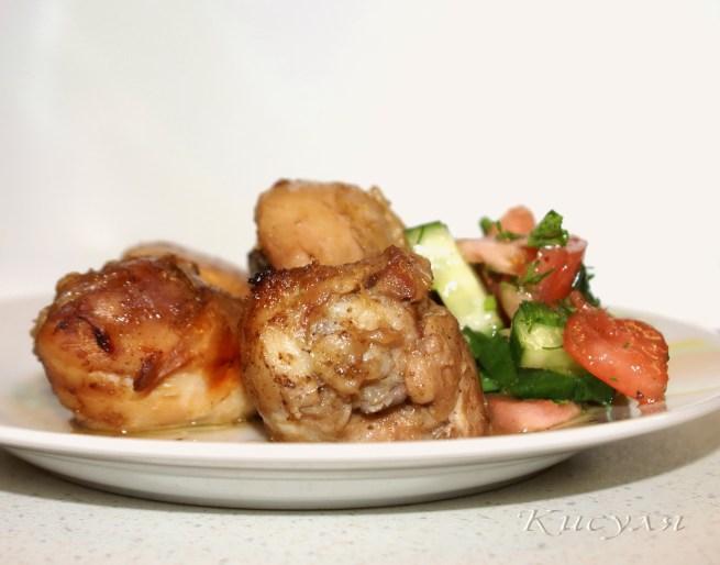 курица в имбирном соусе рецепт с фото