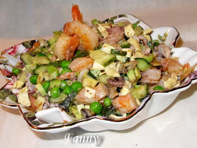 Салат из осьминогов консервированных рецепты с