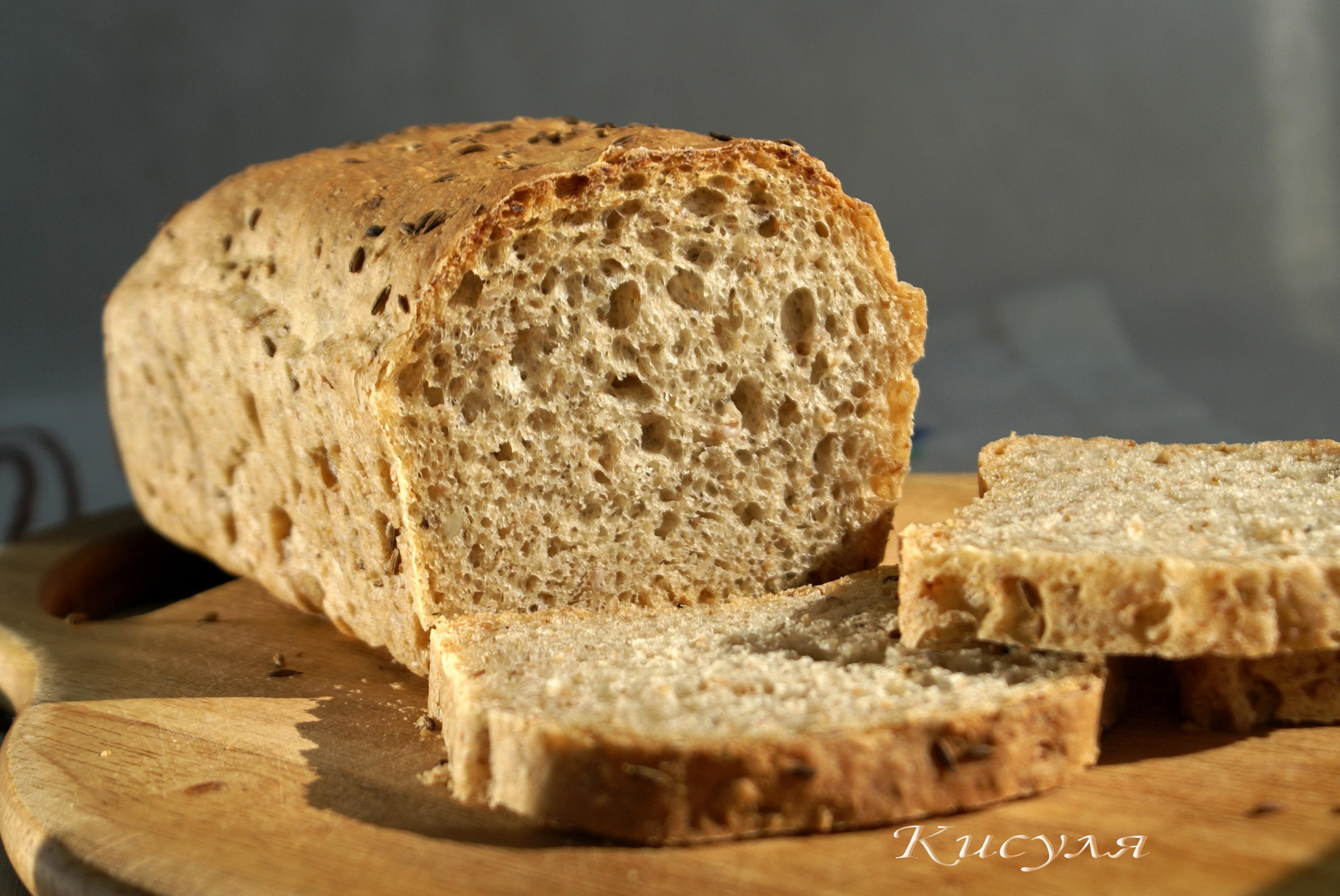 хлеб в качестве наживки