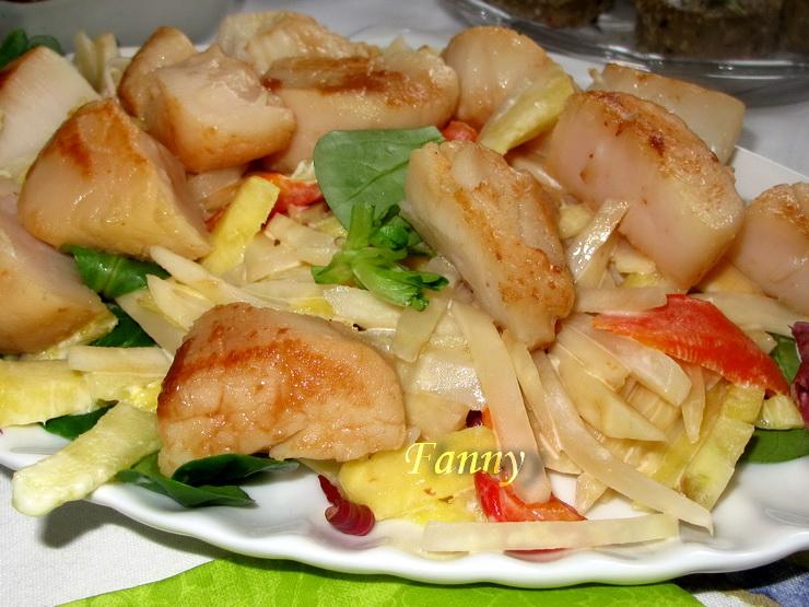 салат из ананаса с сельдереем