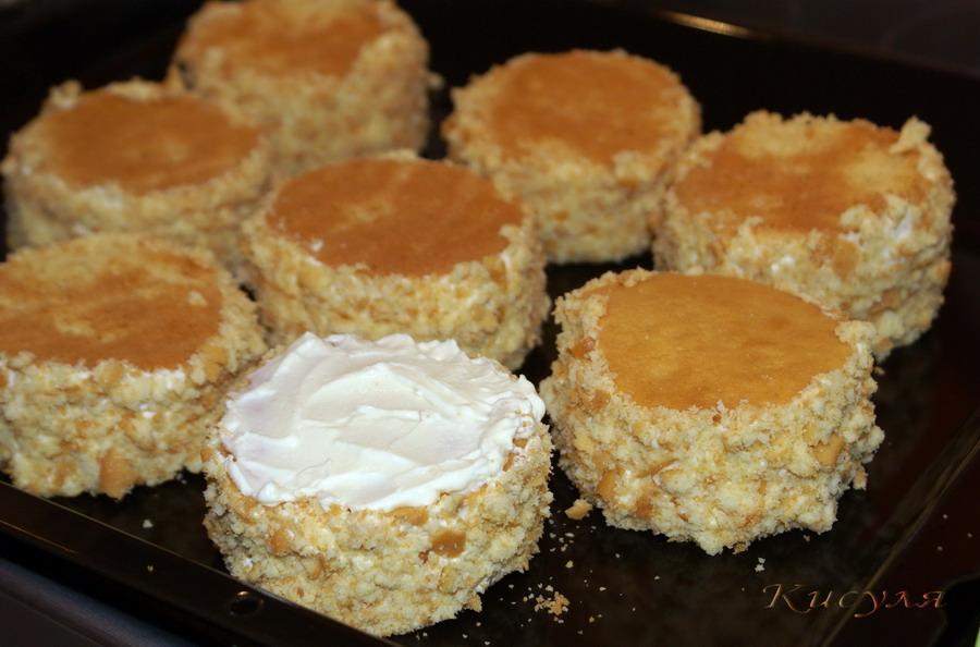 Торт гнездо глухаря рецепт пошагово в домашних