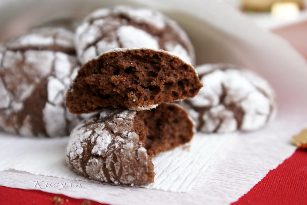 Печенье с какао диетическое